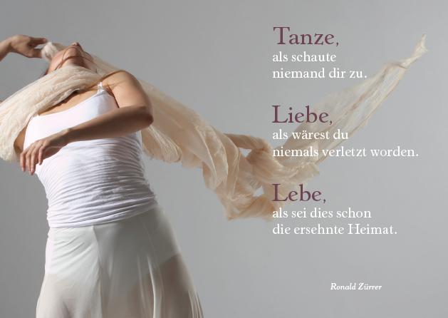 Poesie-Postkarte 022_Tanze liebe lebe