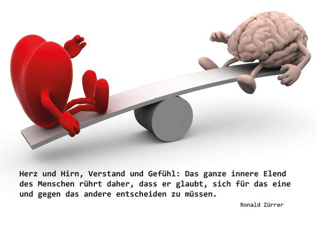 Poesie-Postkarte 005_Herz und Hirn