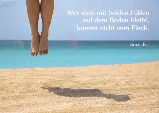 Poesie-Postkarte 151_Vom Fleck