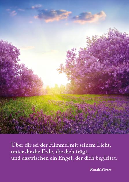 Poesie-Postkarte 023_Kleine Segnung