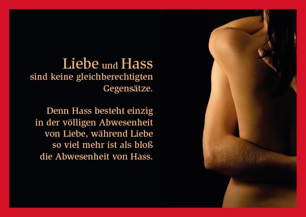 Poesie-Postkarte 046_Liebe und Hass